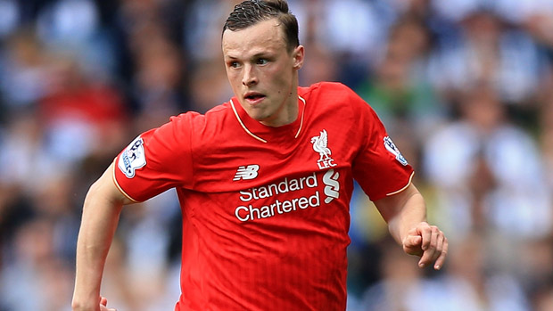 Brad Smith in action for Liverpool in the Premier League.