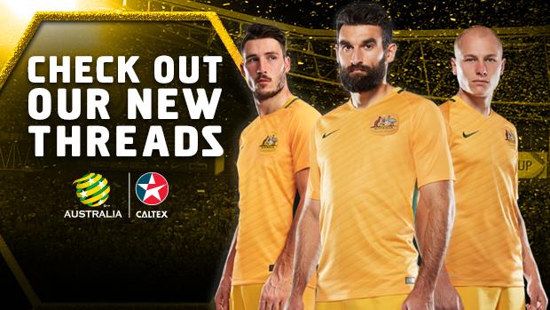 ee0dd268b Nike and FFA unveil new Caltex Socceroos and Westfield Matildas playing  strip