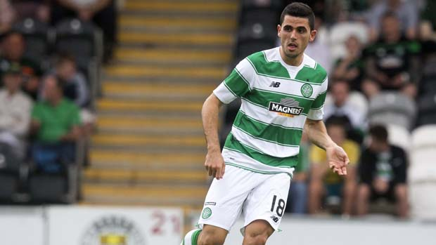 Tom Rogic scored the opener in Celtic's 2-0 win over Partick Thistle.