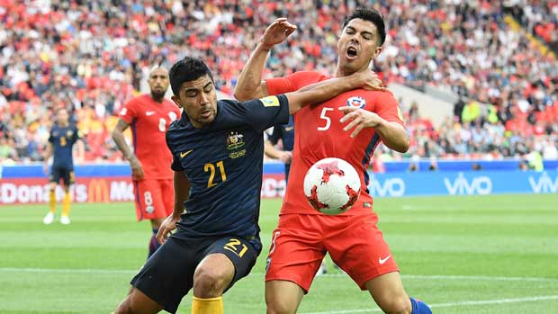 The Caltex Socceroos were very impressive in their performance against Chile at the FIFA Confederations Cup.