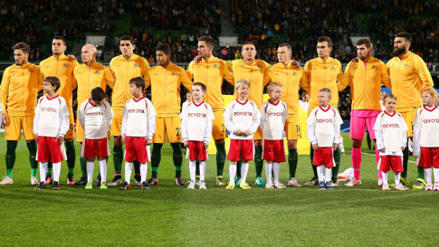 The Caltex Socceroos starting XI in their World Cup qualifier against Iraq on home soil.