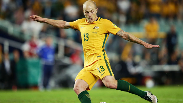 Aaron Mooy has joined English club Huddersfield Town on loan.