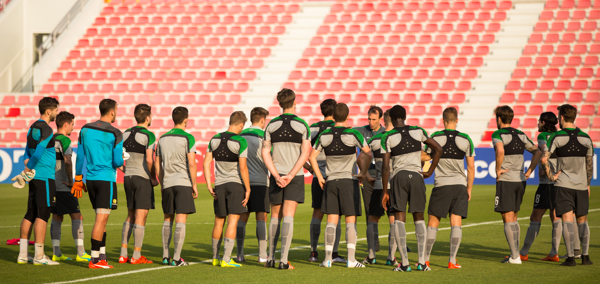 Gallery: Olyroos finalise Olympic qualifiers preparation