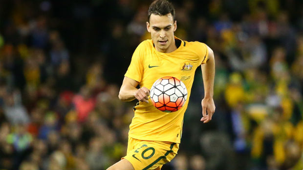 Caltex Socceroos defender Trent Sainsbury was an unused substitute in Inter Milan's 2-1 Serie A home loss to Sampdoria on Tuesday morning (AEST).