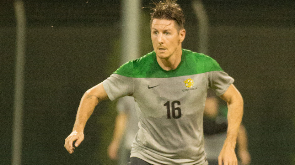 Nathan Burns returns to the Socceroos fold after winning the Hyundai A-League's Johnny Warren Medal last month.