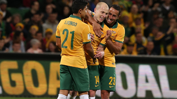 The Socceroos moved up one spot in the latest FIFA rankings.