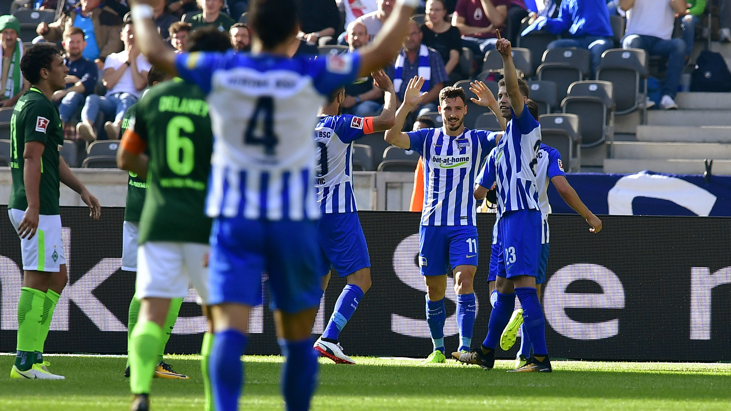 Mathew Leckie continued his stunning start to his Hertha Berlin career
