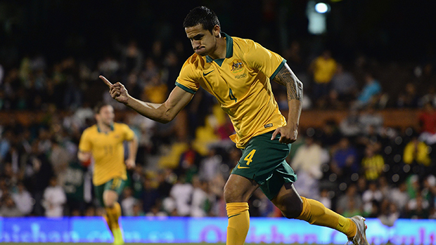 Caltex Socceroo Tim Cahill has been nominated for the Sports Dad of the Year Award.