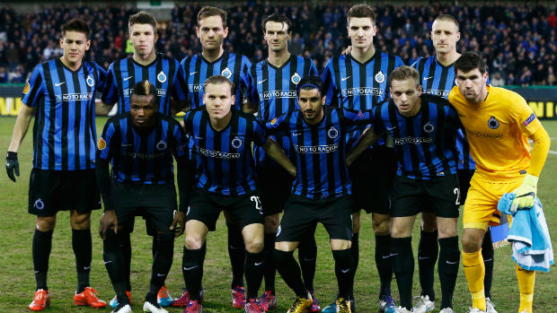 Club Brugge in the Europa League Round of 16.