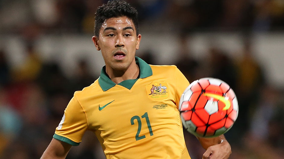 Attacking midfield: Massimo Luongo – A genuine match-winner, the QPR playmaker is looking more and more comfortable in the Green and Gold with every outing.