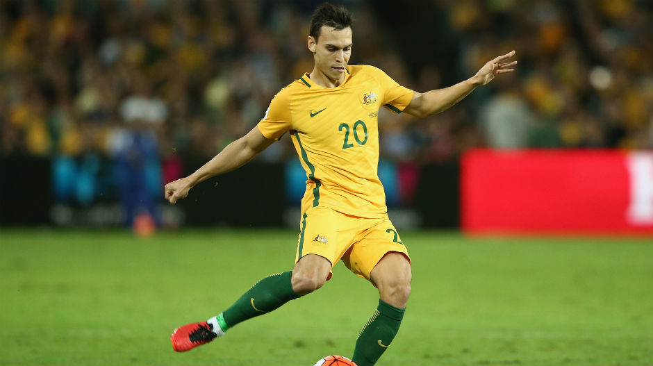 Central defender: Trent Sainsbury