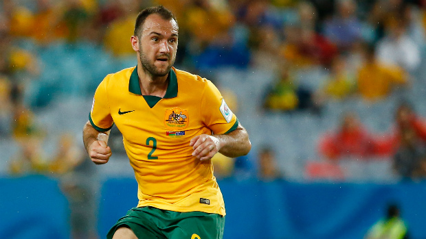 Socceroos defender Ivan Franjic in action during January's Asian Cup.