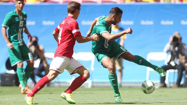 Serie A based Ali Adnan is a rising star of the Iraq side.