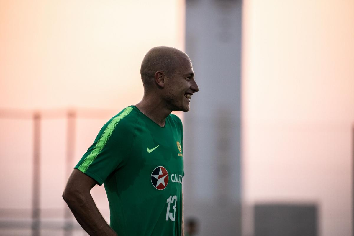 Gallery: All smiles inside pre-Kuwait training camp   Socceroos