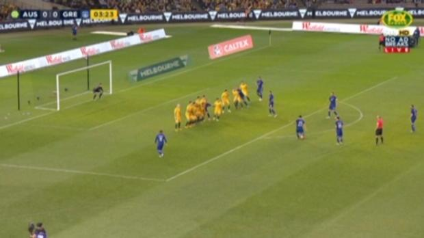 Socceroos downed by Greece