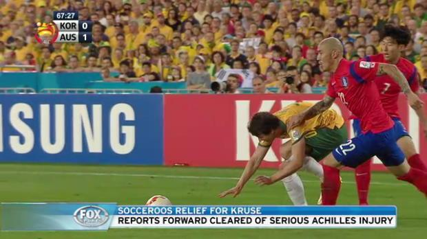 Socceroos relief for Kruse