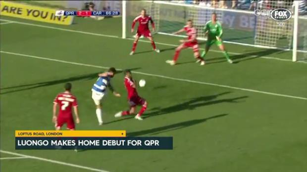 Luongo's home debut for QPR