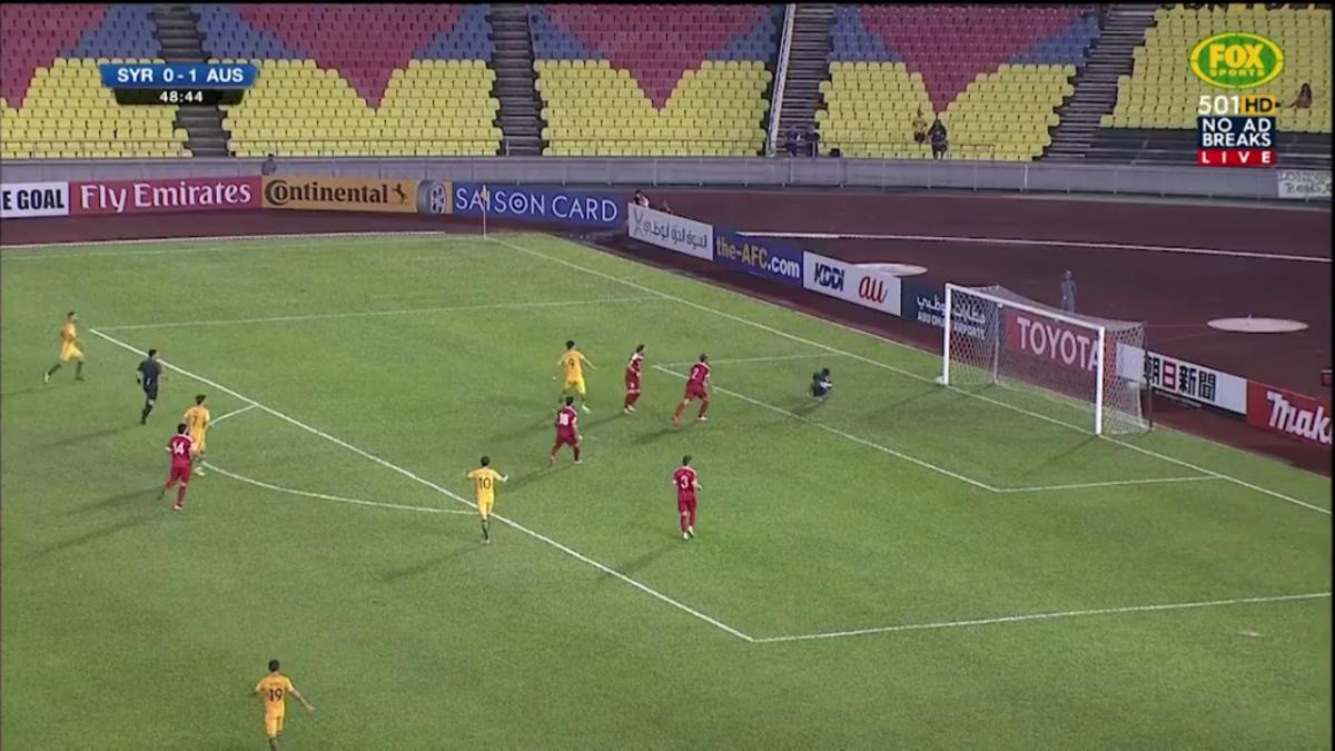 Syria v Socceroos Match Highlights