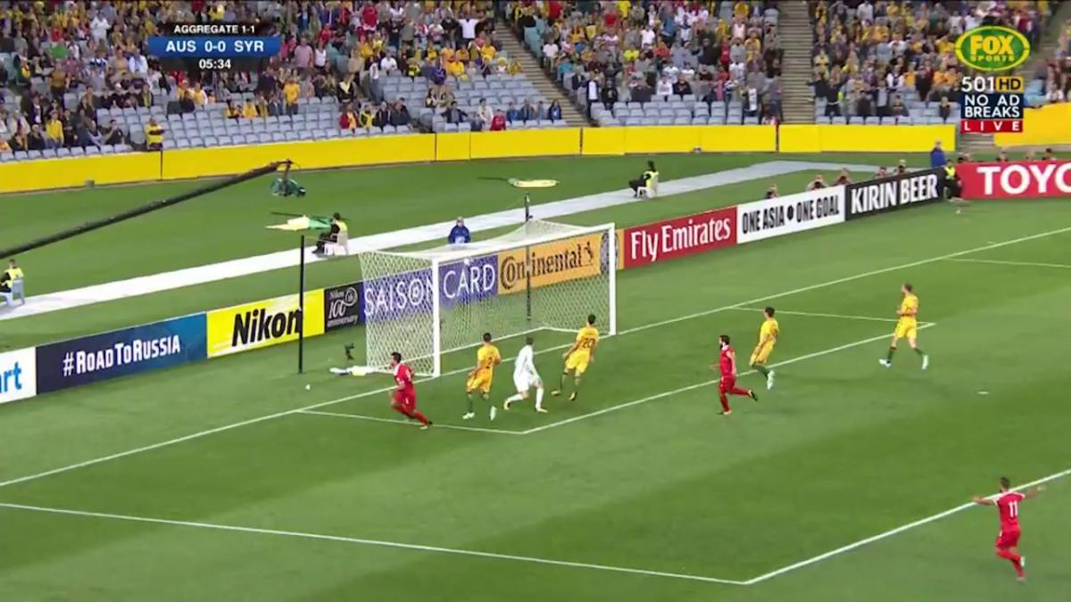 Syria strikes first against the Socceroos