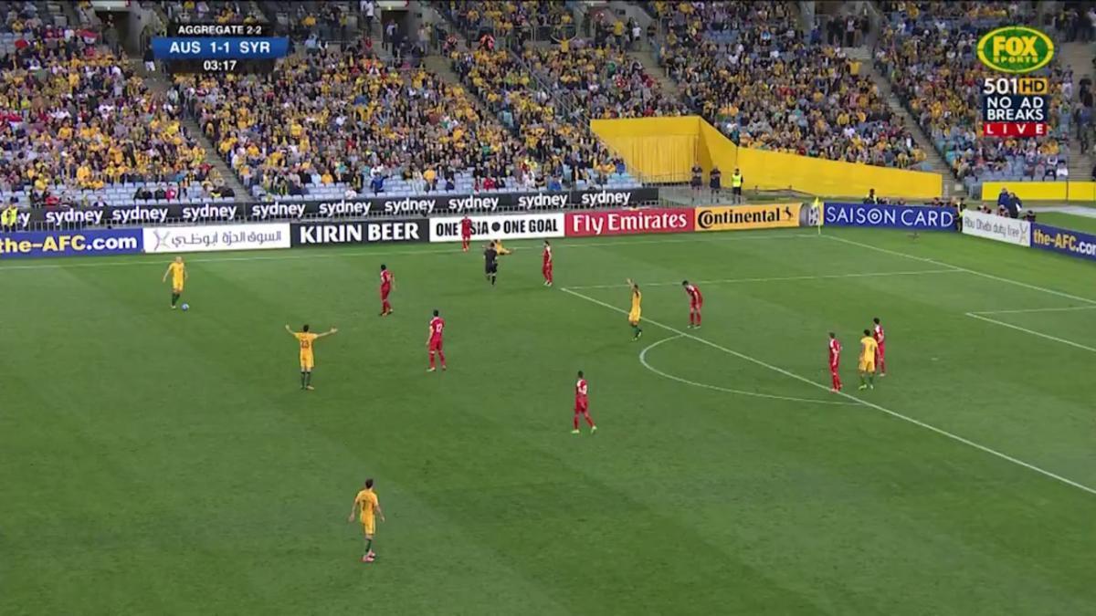 Socceroos v Syria Match Highlights