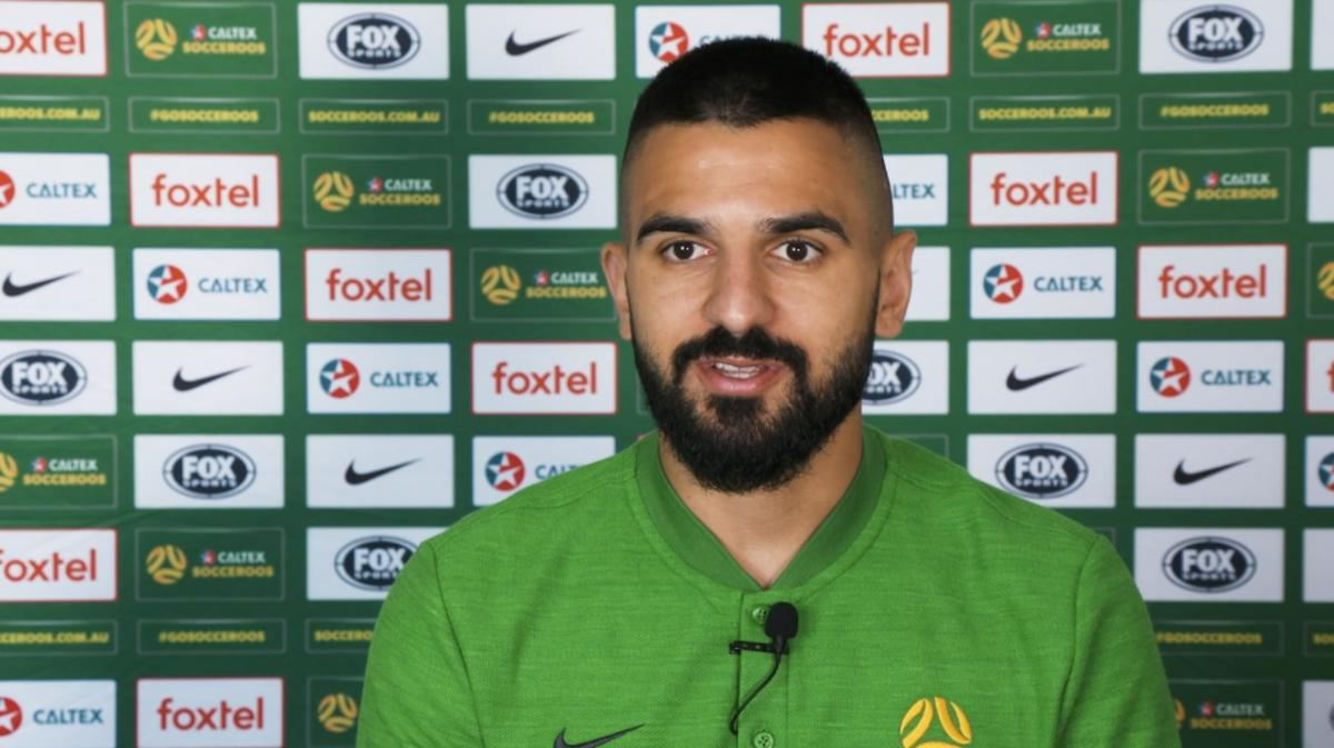Aziz Behich Ready To Commence Asian Qualifiers Journey