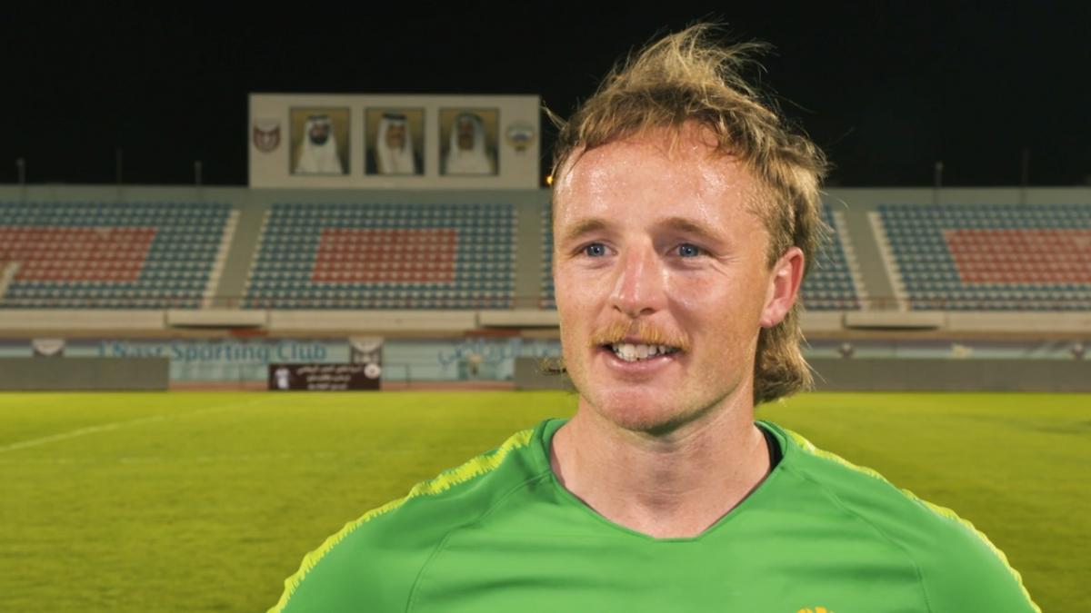 Rhyan Grant On Past Twelve Months With Socceroos