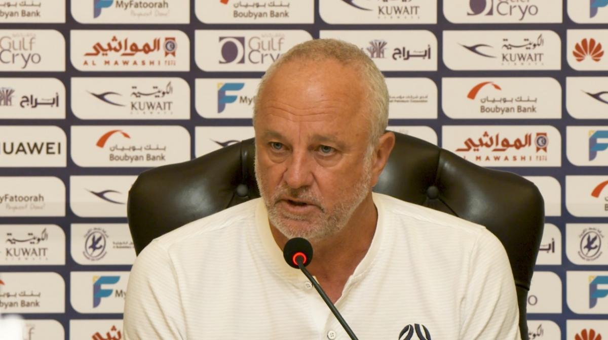 Pre-Match Press Conference: Kuwait v Caltex Socceroos