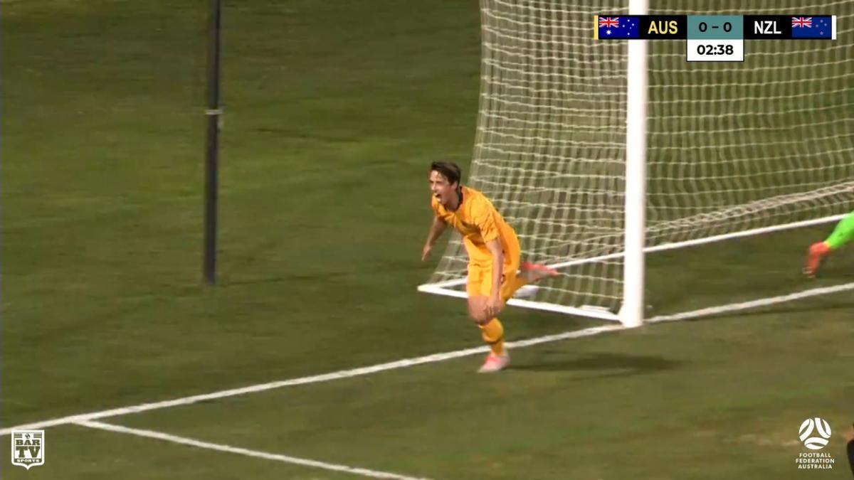 Goals: Australia U-23's 1-1 New Zealand U23's