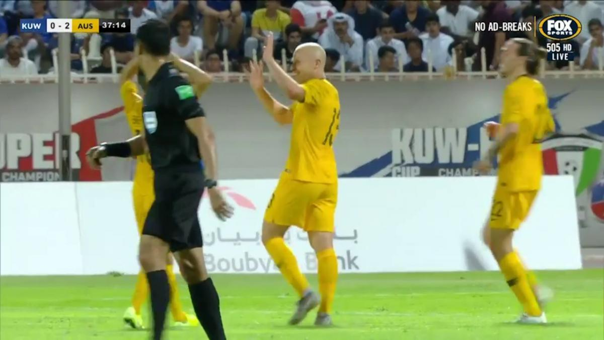Mooy lets it rip for three