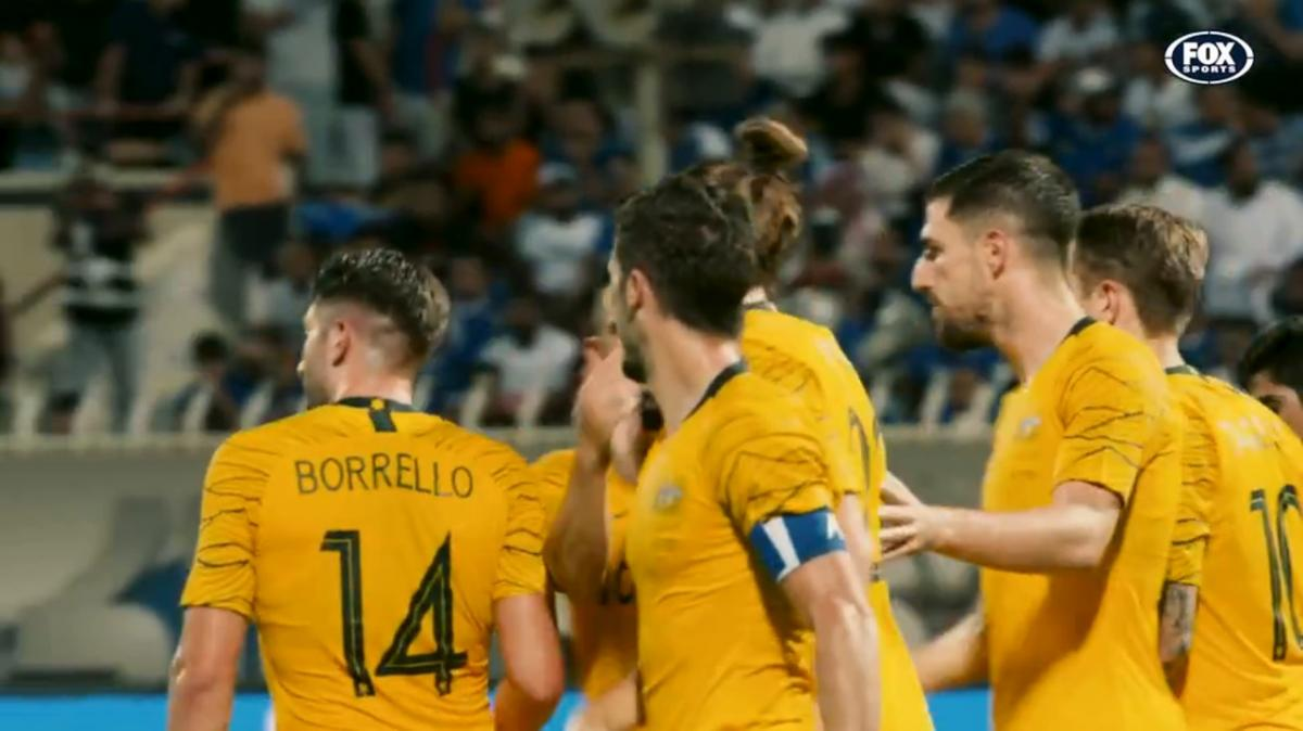 Mathew Leckie on his two goals against Kuwait