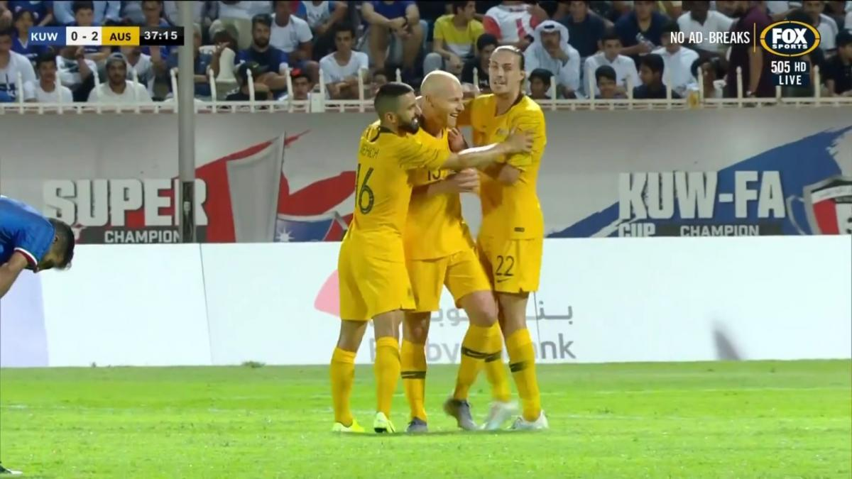 Full-time highlights: Kuwait v Australia