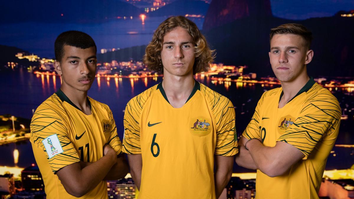 Trevor Morgan Names Australia's Brazil-Bound Boys