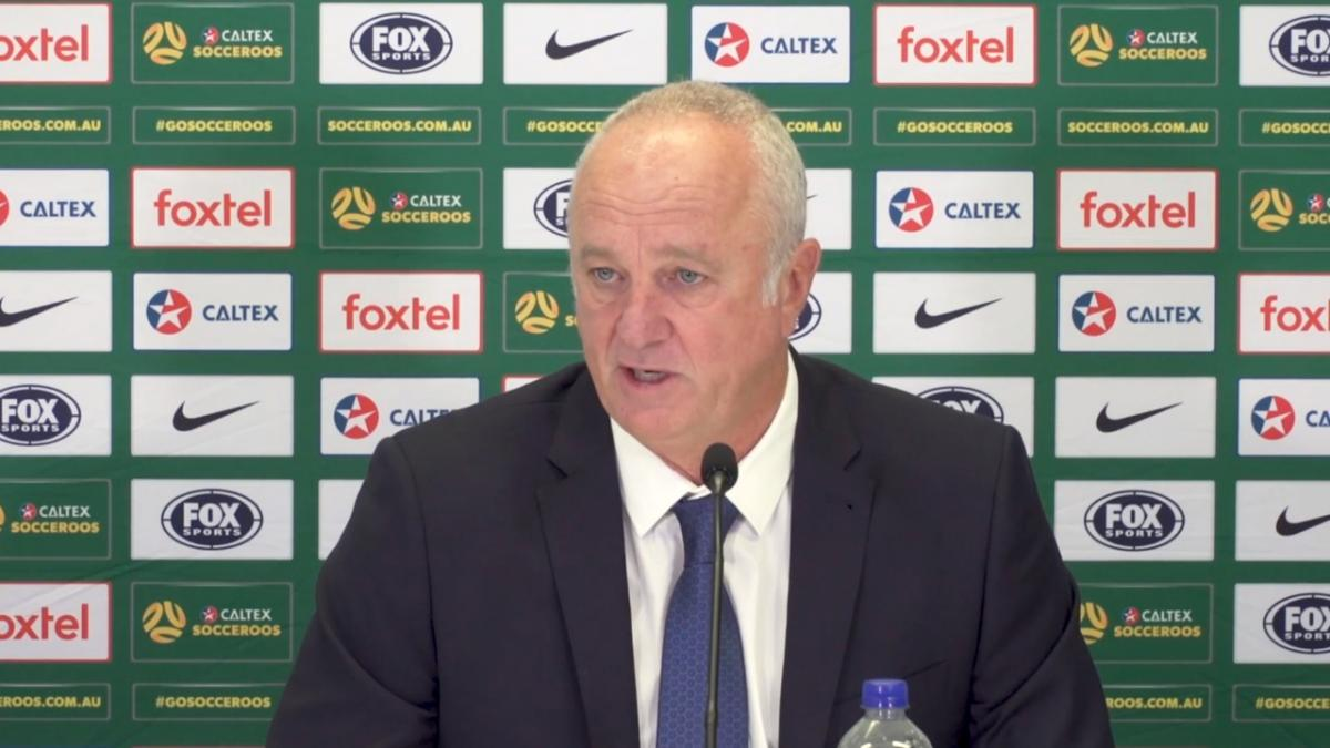 Press Conference: Graham Arnold