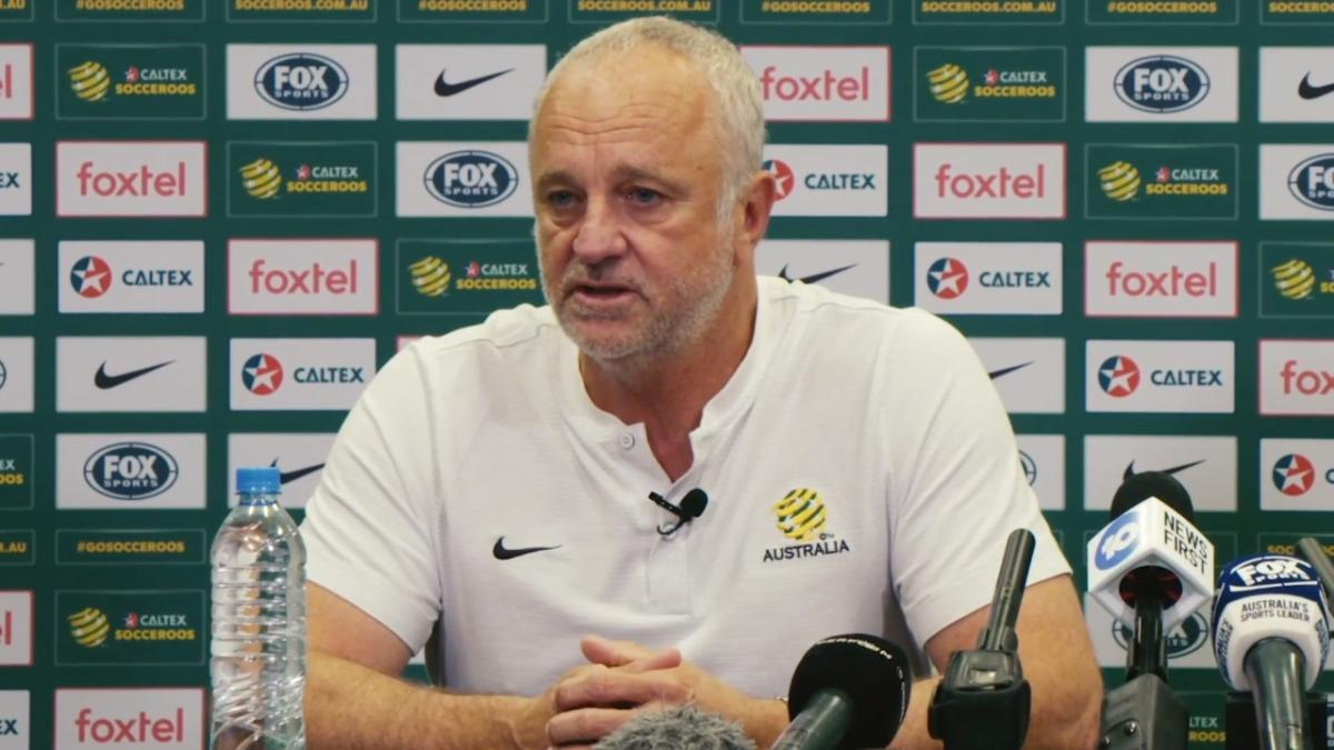 Pre-Match Press Conference: Caltex Socceroos v Korea Republic