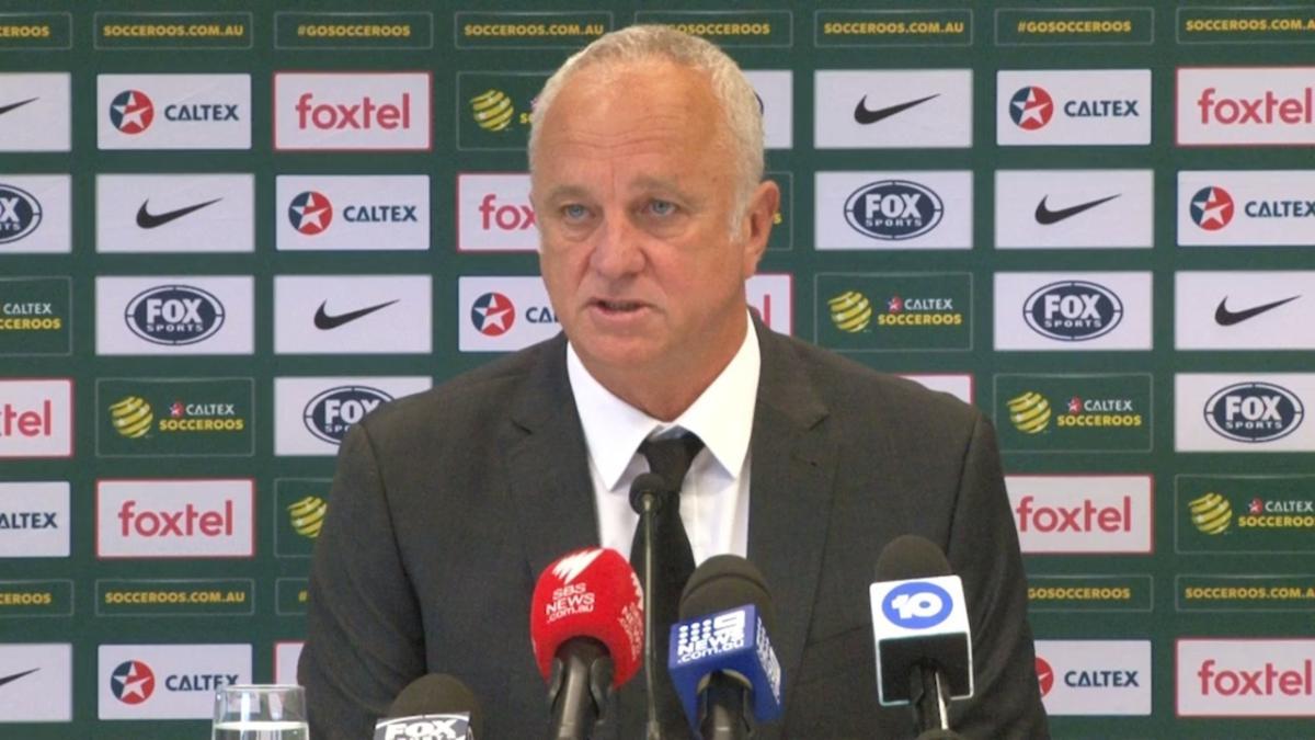 Press Conference: Graham Arnold
