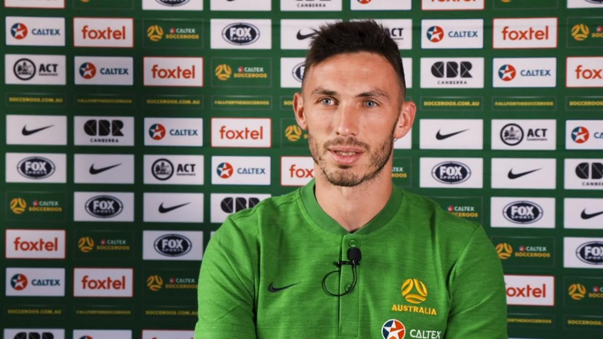 Apostolos Giannou on returning to Australia