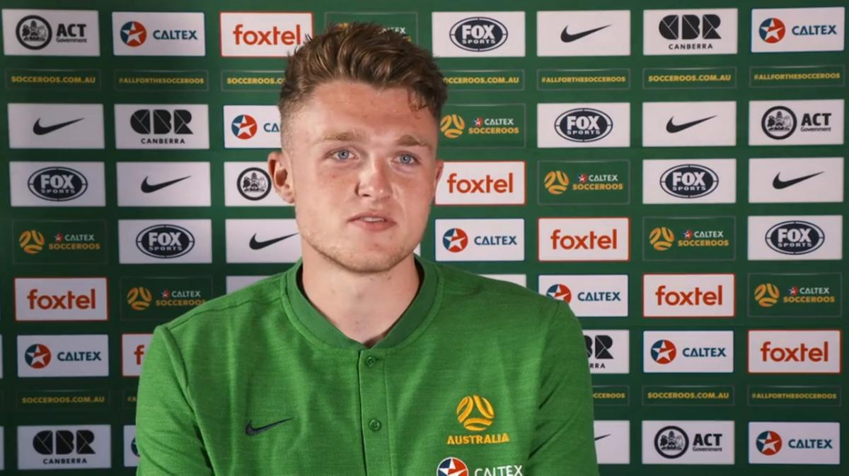 Harry Souttar on first days in Australia