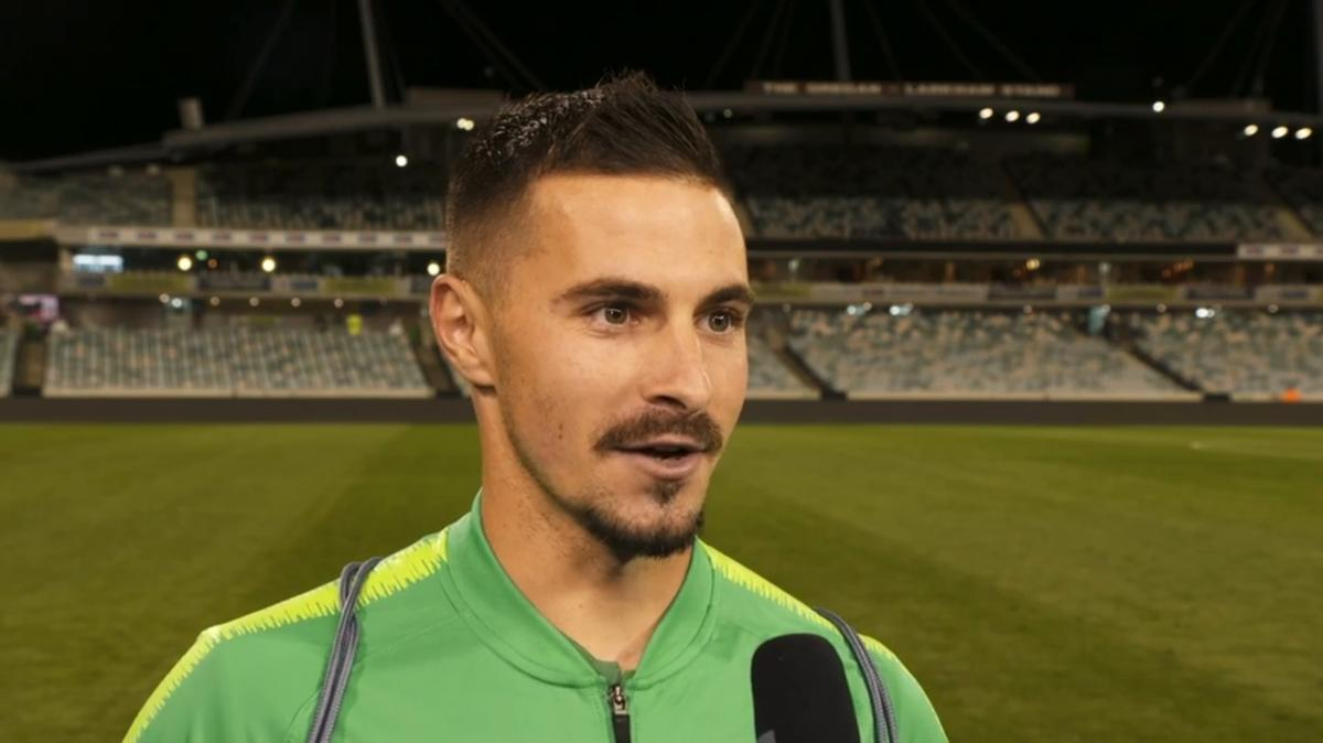 Jamie Maclaren on hat-trick performance