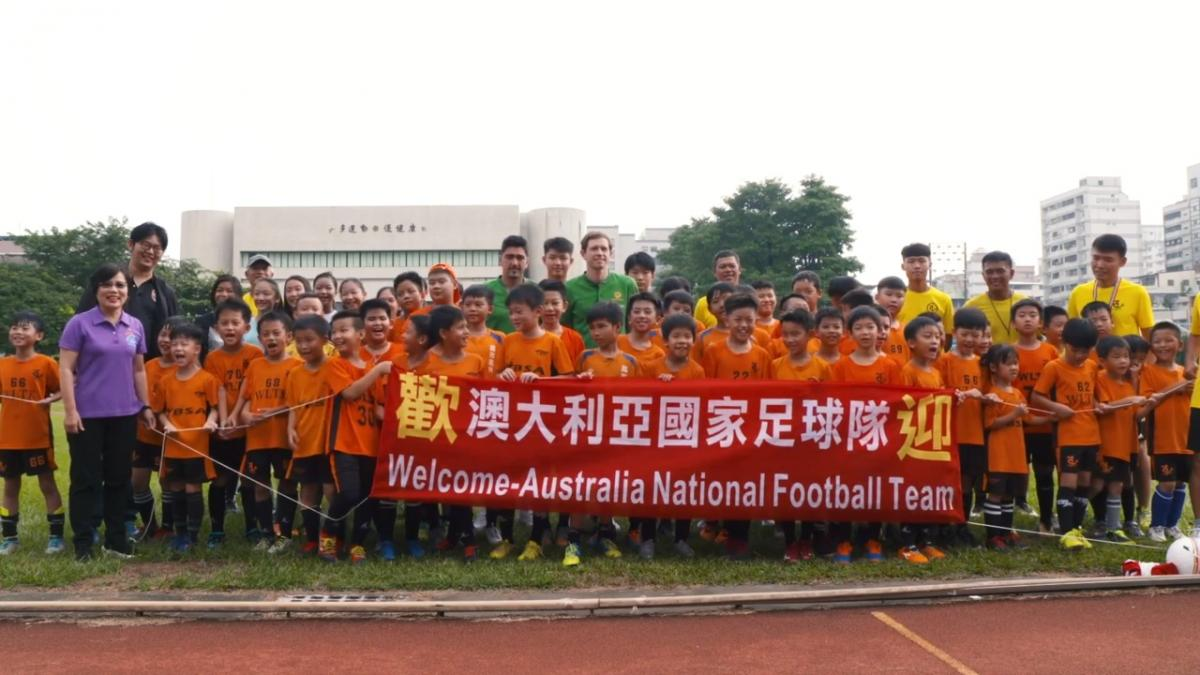 Petratos and Goodwin meet the locals in Kaohsiung