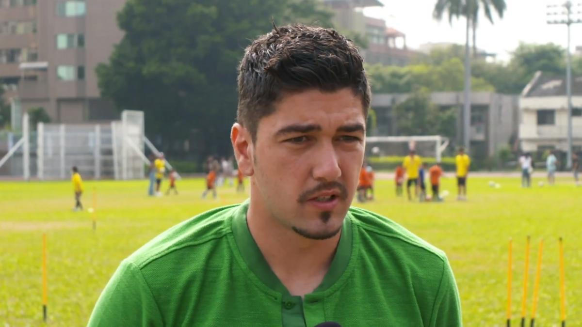 Dimi Petratos enjoying return to camp