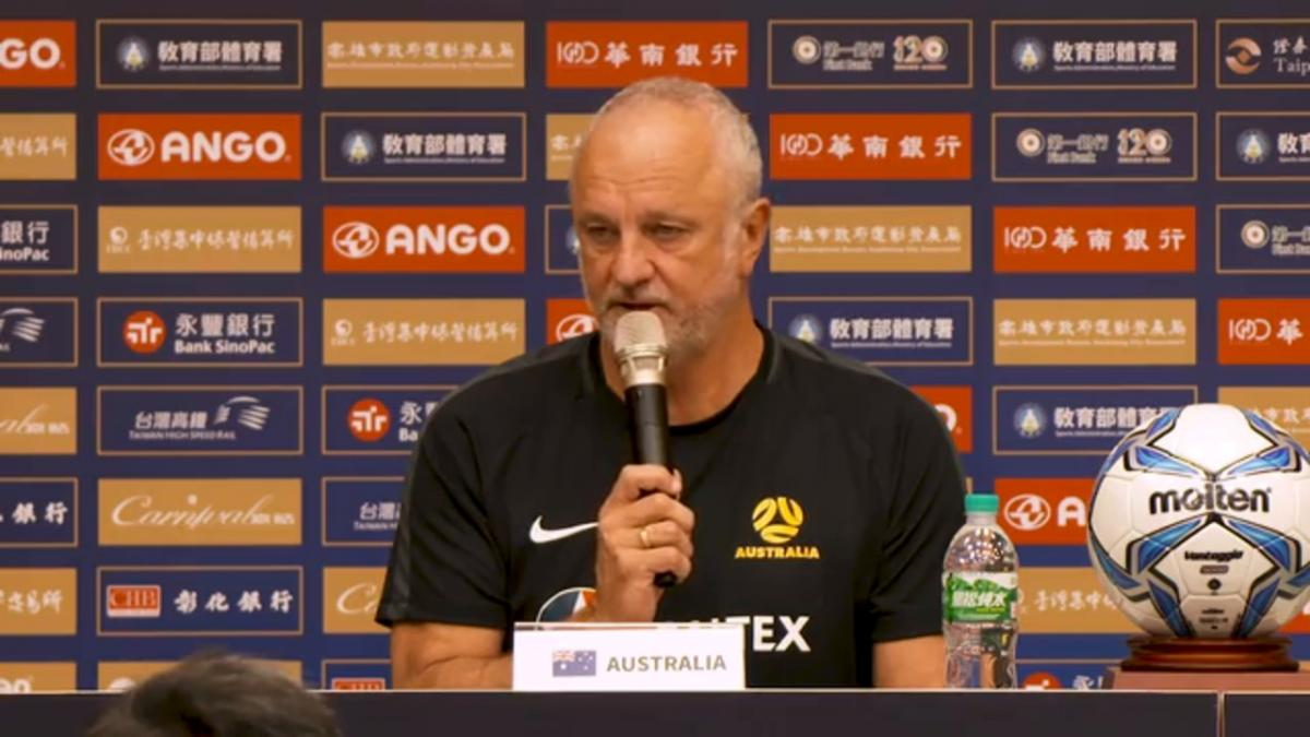 Pre-Match Press Conference: Chinese Taipei v Caltex Socceroos