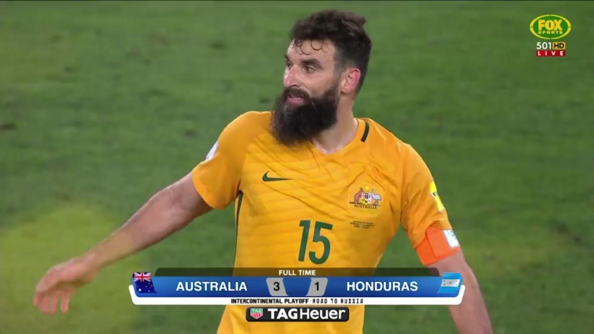 Australia celebrates World Cup qualification