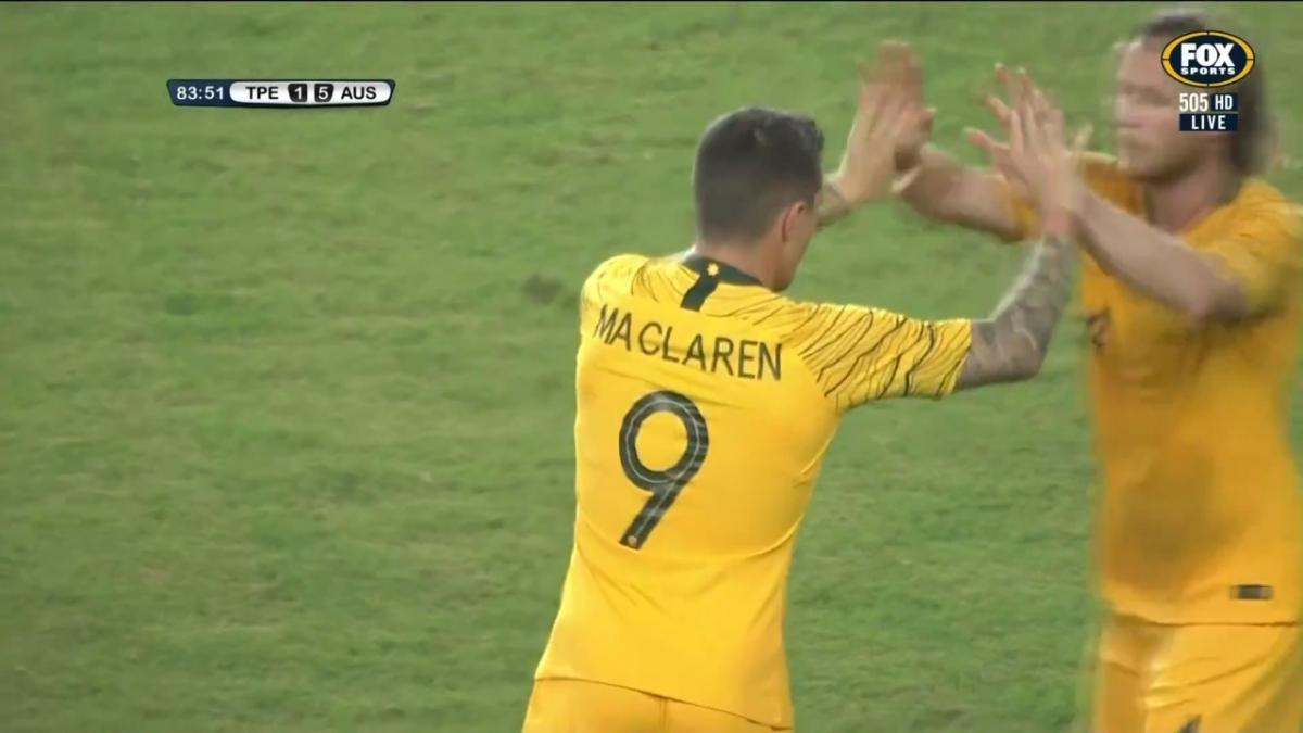 GOAL: Maclaren grabs one to make it six