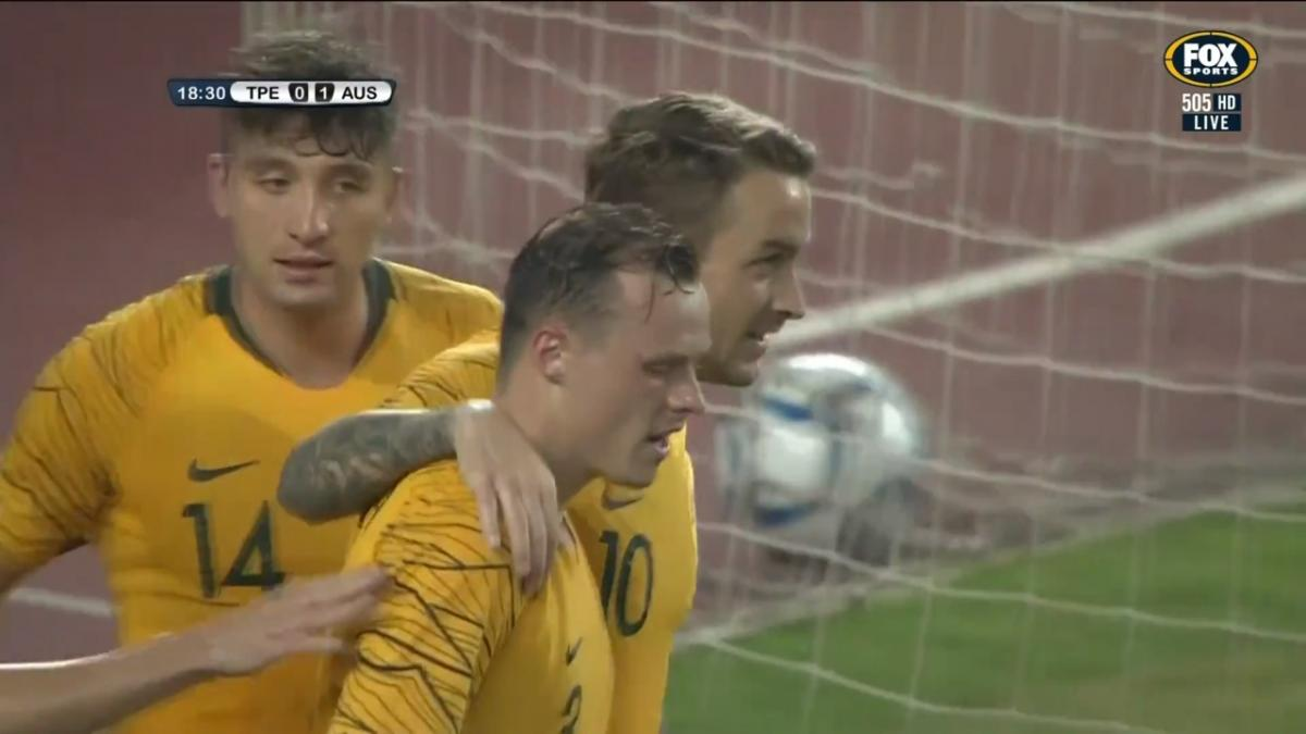 Match Highlights | Australia v Chinese Taipei | 2022 FIFA World Cup Qualifier