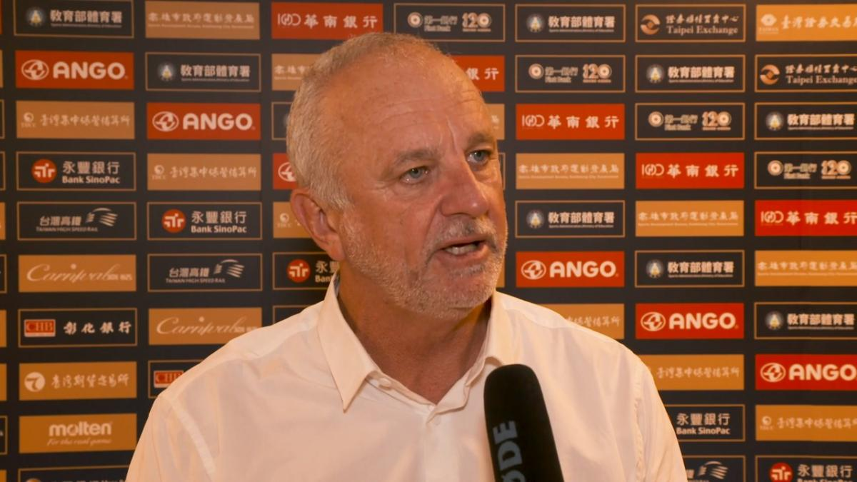 Post-Match Reaction With Graham Arnold: Chinese Taipei v Caltex Socceroos