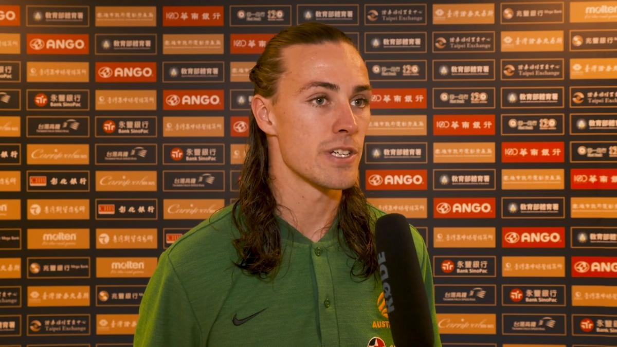 Jackson Irvine delighted with result against Chinese Taipei