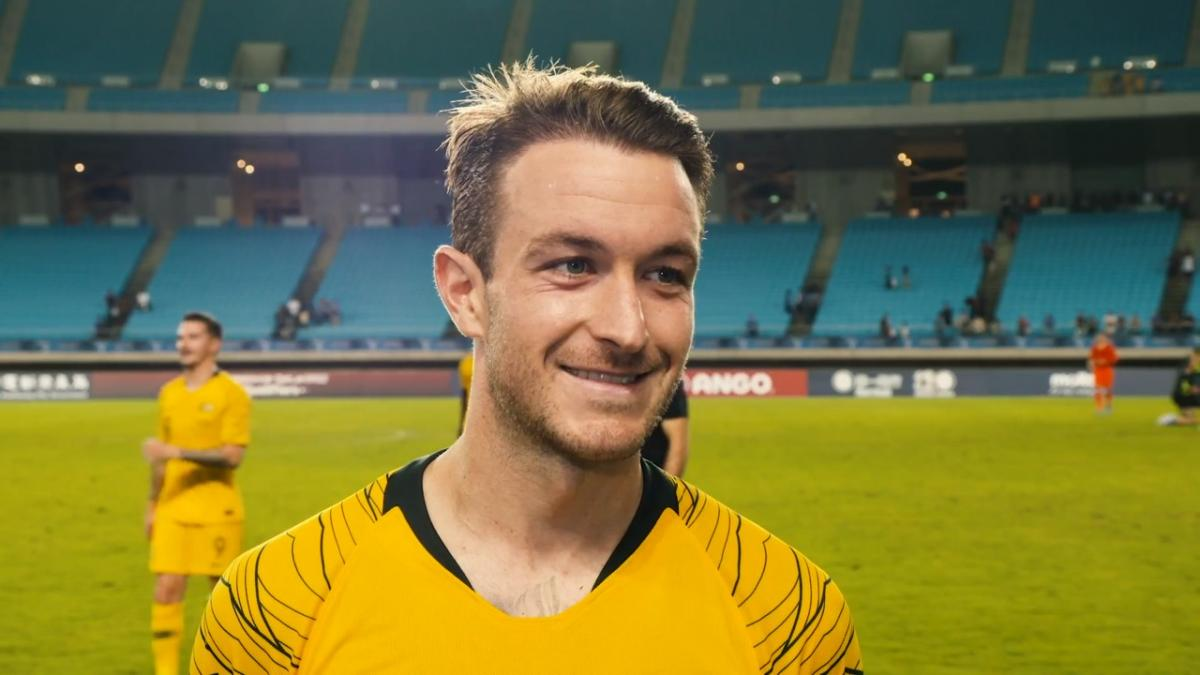 Adam Taggart on scoring a brace against Chinese Taipei