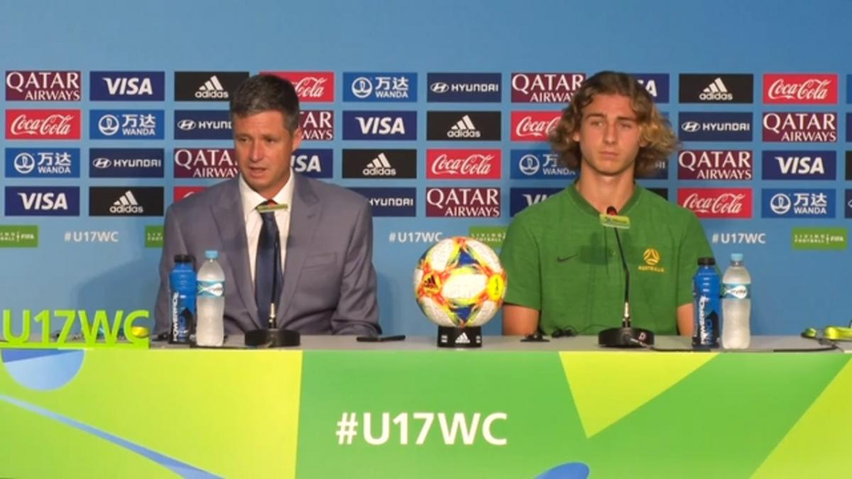Pre-Match Press Conference: Ecuador U-17 v Australia U-17