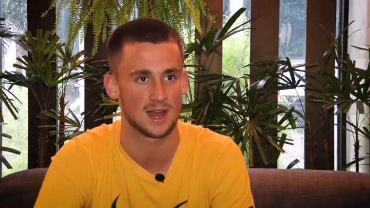 Courtney-Perkins on Joeys' spirited comeback against Hungary