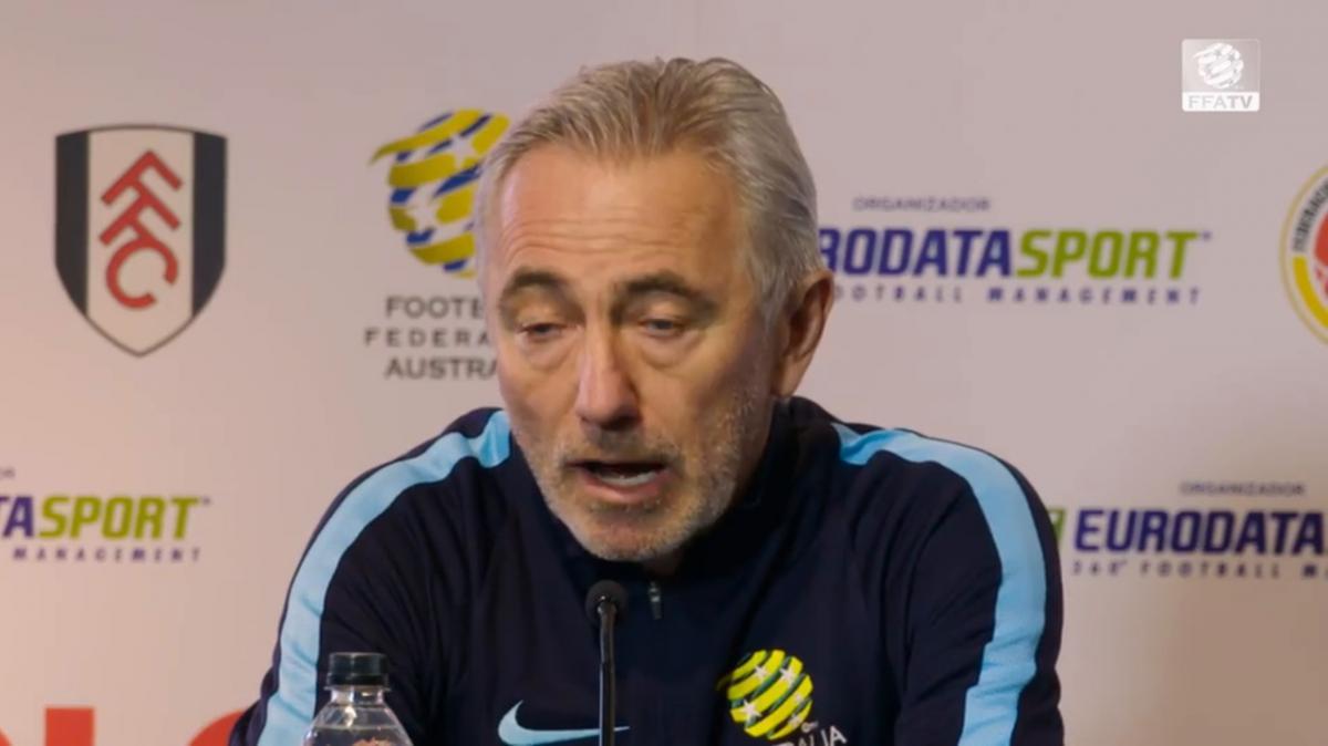 Socceroos to show initiative: van Marwijk
